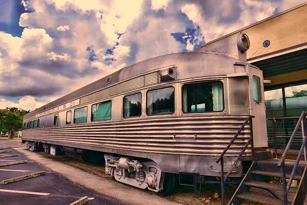 Photograph - 6601 Sitting At The Depot 2 by Don Columbus