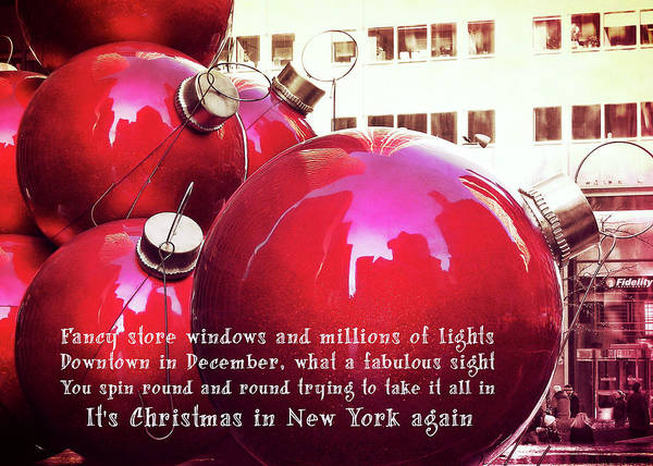 Photograph - 6th Avenue Quote by JAMART Photography
