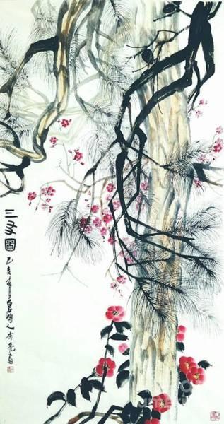 Painting - TBD by Li Liang