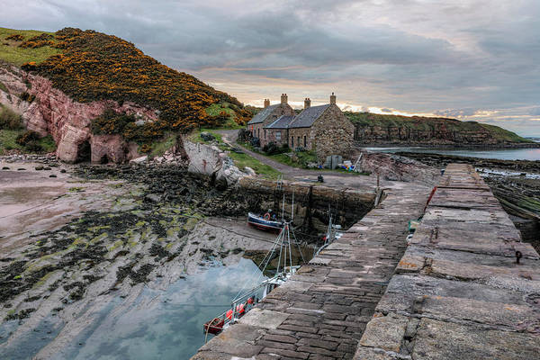 Wall Art - Photograph - Cove - Scotland by Joana Kruse
