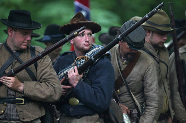 History Photograph - Gettysburg Marks 150th Anniversary Of by John Moore