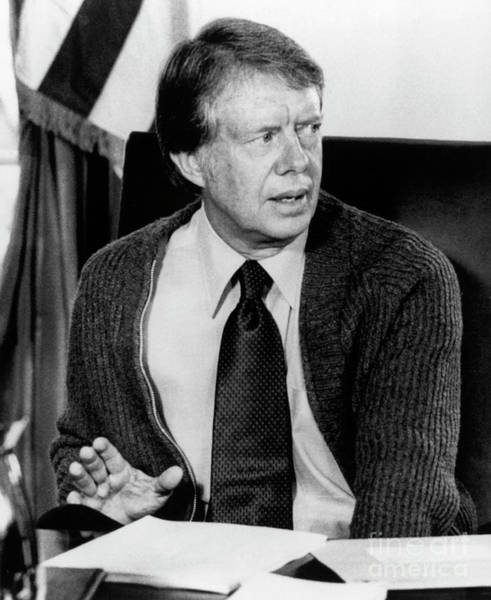 Photograph - Jimmy Carter by Granger