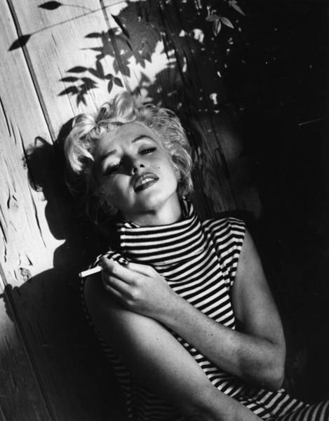Content Photograph - Marilyn Monroe by Baron