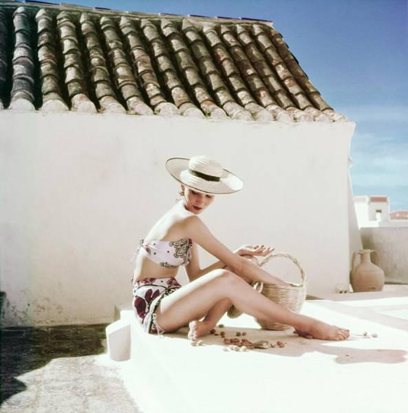 Photograph - Model In A Calypso Bikini by Henry Clarke