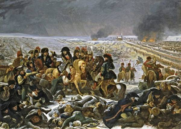 Wall Art - Painting - Napoleon On The Battlefield Of Eylau, Circa 1807 by Antoine-Jean Gros