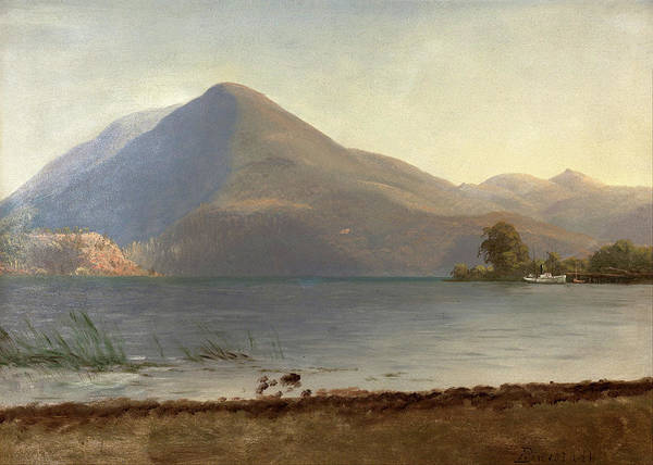 Painting - On The Hudson by Albert Bierstadt