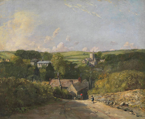 Wall Art - Painting - Osmington Village by John Constable