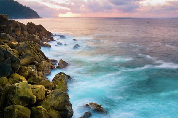 San Sebastian Photograph - Rocky Coastline by Mmac72