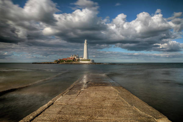 Wall Art - Photograph - St Mary's Lighthouse - England by Joana Kruse