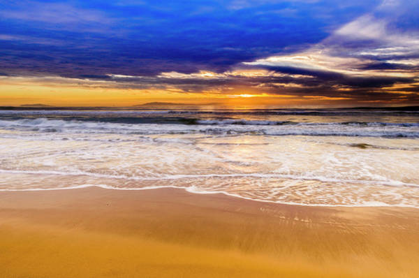 Wall Art - Photograph - Sunset Over The Channel Islands by Russ Bishop