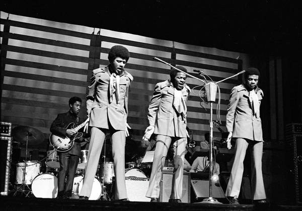 Apollo Theater Photograph - The Delfonics In Ny by Michael Ochs Archives