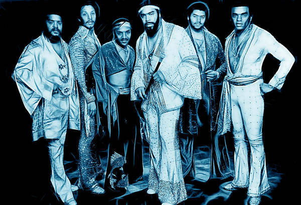 Funk Mixed Media - The Isley Brothers Collection by Marvin Blaine