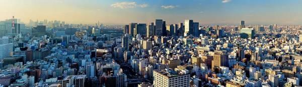 Wall Art - Photograph - Tokyo Panorama by Vladimir Zakharov