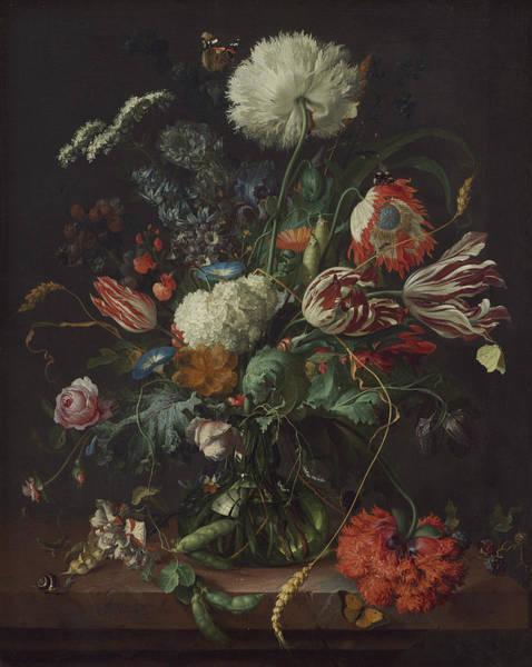 Painting - Vase Of Flowers by Jan Davidsz de Heem