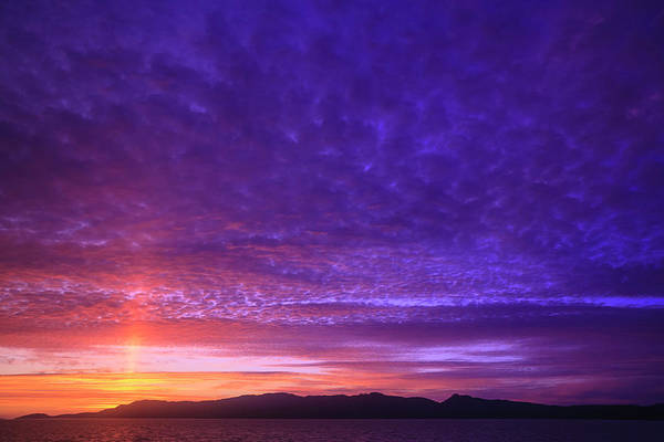 Wall Art - Photograph - Vibrant Summer Sunset, Inside Passage by Stuart Westmorland