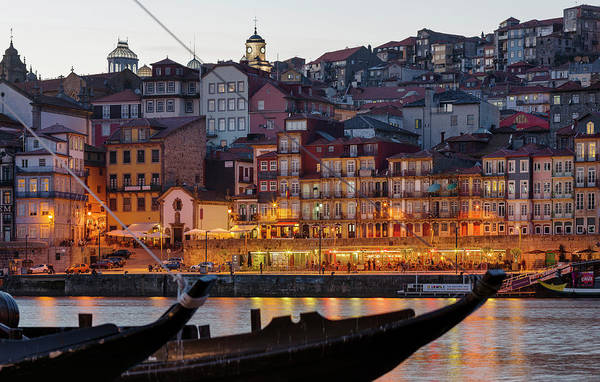 Wall Art - Photograph - View From Vila Nova De Gaia Towards by Martin Zwick