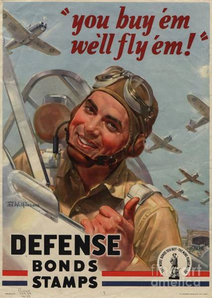 Wall Art - Painting - Wartime Propaganda Poster by Esoterica Art Agency