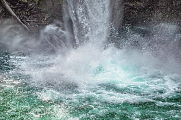 Wall Art - Photograph - 70 Meter Waterfall Splash by Betsy Knapp