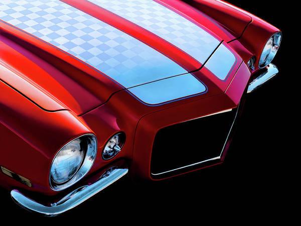Camaro Wall Art - Digital Art - '71 Camaro by Douglas Pittman