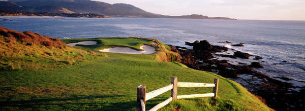 Wall Art - Photograph - 7th Hole At Pebble Beach Golf Links by Panoramic Images