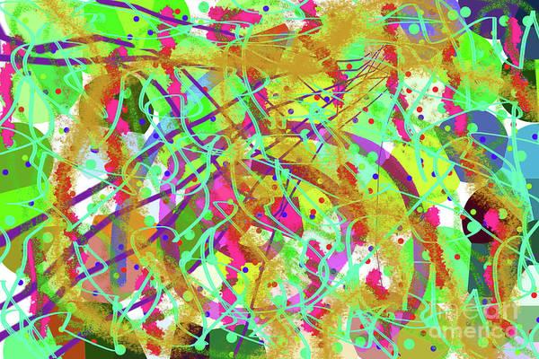 Wall Art - Digital Art - 8-27-2011abcdefghijklmnopqr by Walter Paul Bebirian