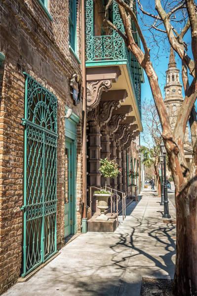 Photograph - Charleston South Carolina Historic Architecture by Alex Grichenko