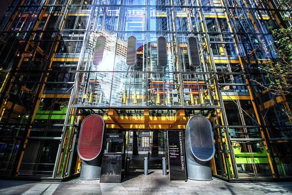 Wall Art - Photograph - London Architecture by Martin Newman