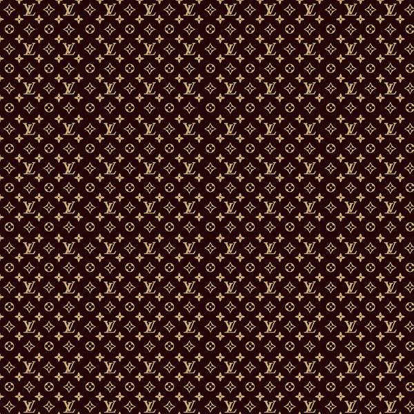 Louis Vuitton Digital Art -  Louis Vuitton. Logo by Louis Vuitton Logo