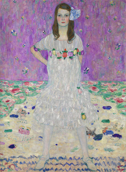 Wall Art - Painting - Mada Primavesi by Gustav Klimt
