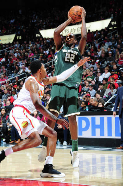 Photograph - Milwaukee Bucks V Atlanta Hawks by Scott Cunningham