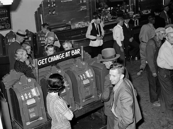 Photograph - Nevada Las Vegas, 1940 by Granger