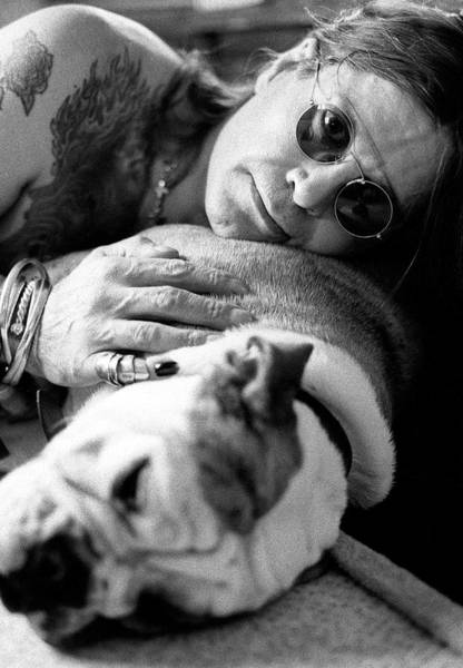 Photograph - Ozzy Osbourne by Martyn Goodacre