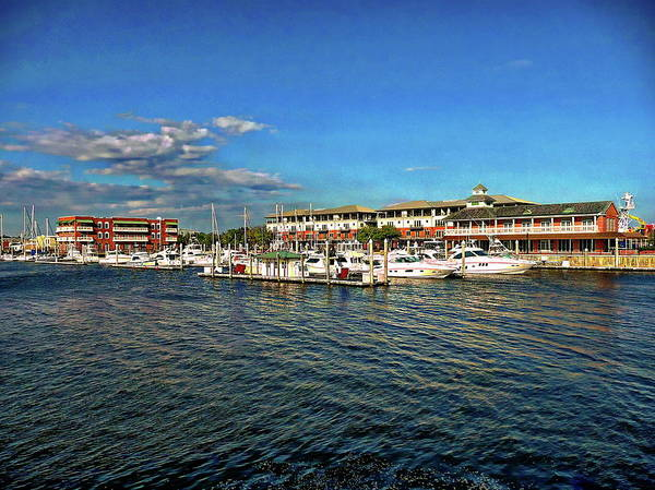Photograph - Palafox Pier by Anthony Dezenzio