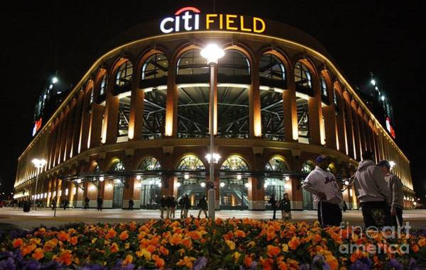 Photograph - San Diego Padres V New York Mets by Jim Mcisaac