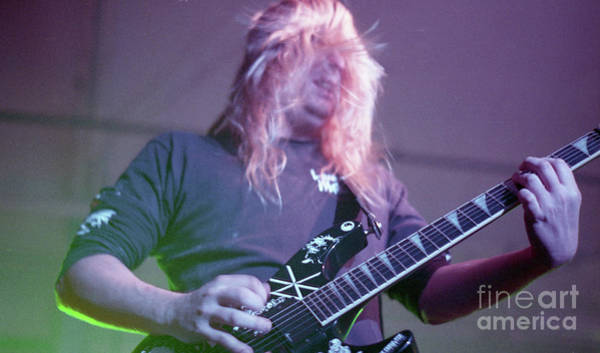 Jeff Hanneman Wall Art - Photograph - Slayer by Bill O'Leary