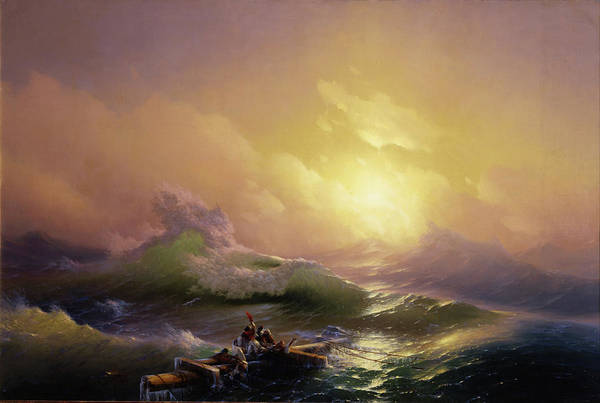 Legion Of Honor Painting - The Ninth Wave  by Ivan Aivazovsky