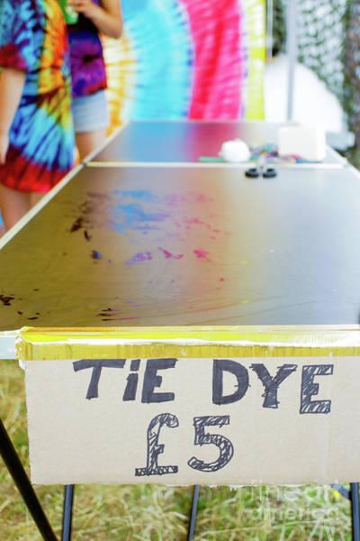 Wall Art - Photograph - Tie Dye Workshop by Tom Gowanlock