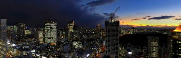 Wall Art - Photograph - Tokyo Panorama At Sunset by Vladimir Zakharov