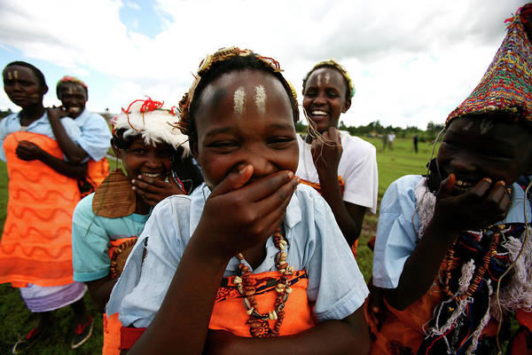 Photograph - Women Empowerment In An Aids Ridden by Brent Stirton