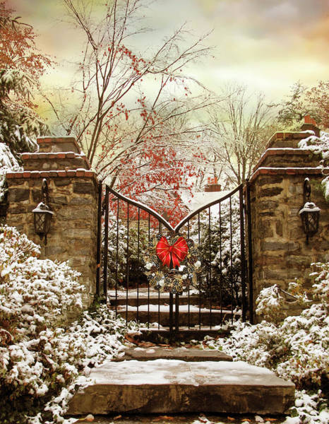 Wall Art - Photograph - Holiday Gates by Jessica Jenney