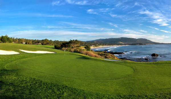 Wall Art - Photograph - 8th Hole At Pebble Beach Golf Links by Panoramic Images