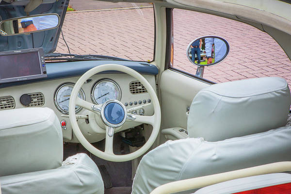 Wall Art - Photograph - 1991 Nissan Figaro  by Rich Franco