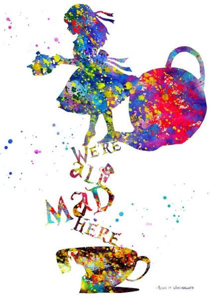 Wall Art - Photograph - Alice In Wonderland by Erzebet S