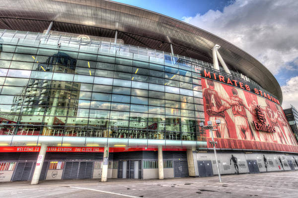 Wall Art - Photograph - Arsenal Fc Emirates Stadium London  by David Pyatt