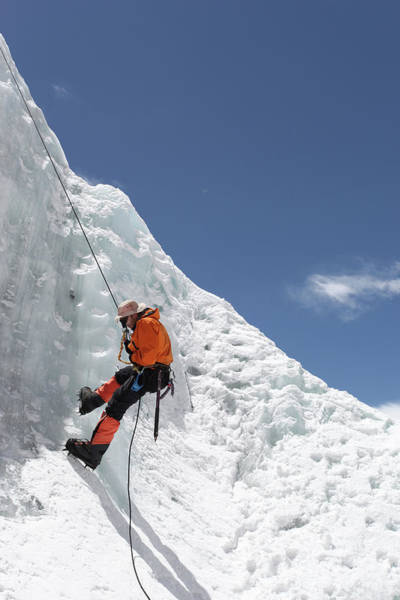 Climbing Photograph - Climbing Mt. Everest by Jason Maehl