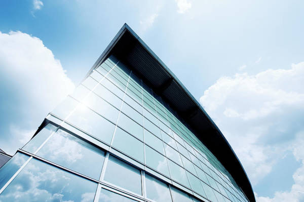 Photograph - Futuristic Office Building by Ppampicture
