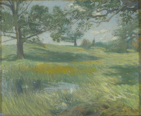 Wall Art - Painting - Meadows by Frederick Childe