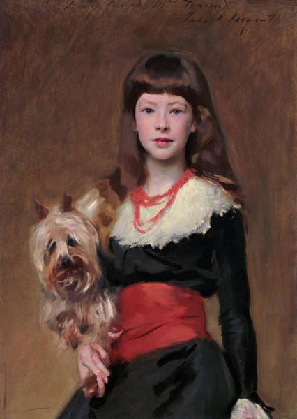 Wall Art - Painting - Miss Beatrice Townsend by John Singer Sargent