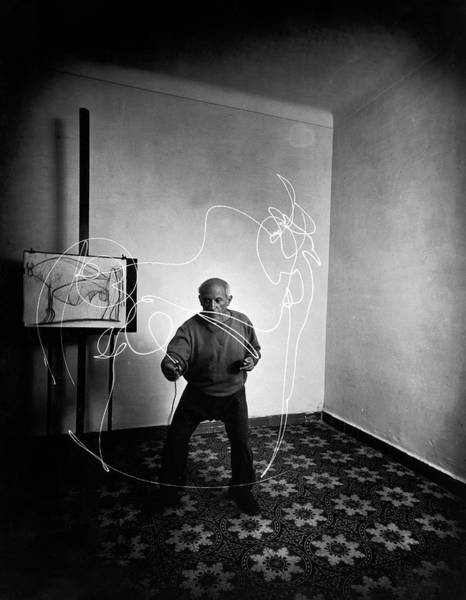 Wall Art - Photograph - Pablo Picassopablo Picasso Misc by Gjon Mili