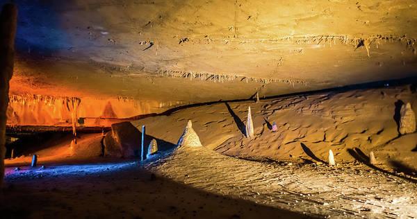 Photograph - Pathway Underground Cave In Forbidden Cavers Near Sevierville Te by Alex Grichenko